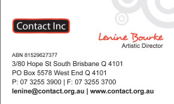 Contact Inc Business Cards