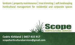 Scope Business Card