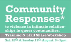Community Responses Skill Sharing