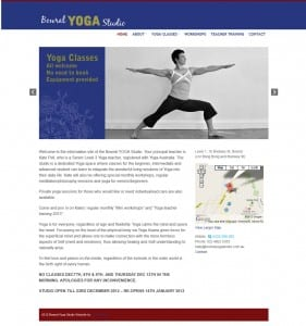 Bowral Yoga Studio HomePage