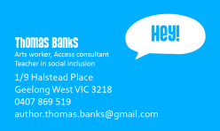 Thomas's Business Card