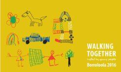 Borrolola Walking Together Poster